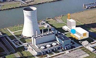Petrochemische-industrie_Krachtcentrale-Moerdijk